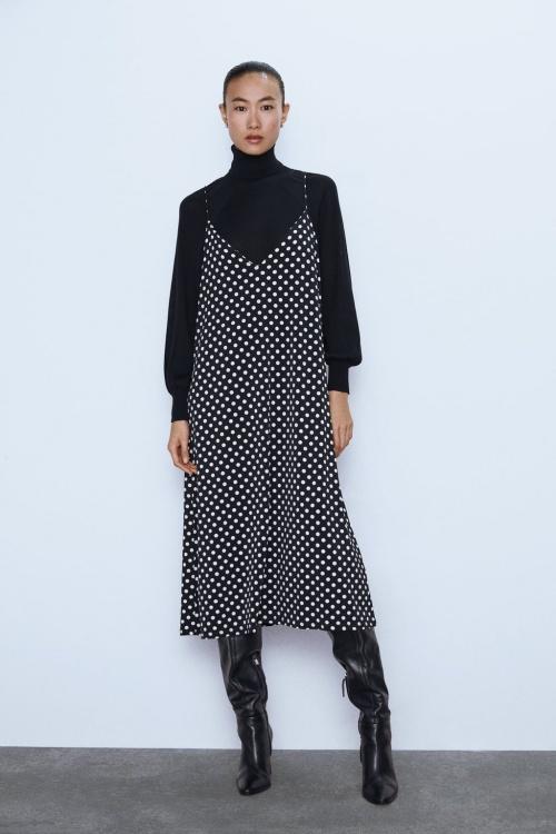 Zara - Robe à bretelle