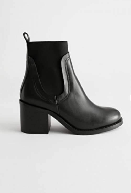 &Other Stories - Bottines simili cuir