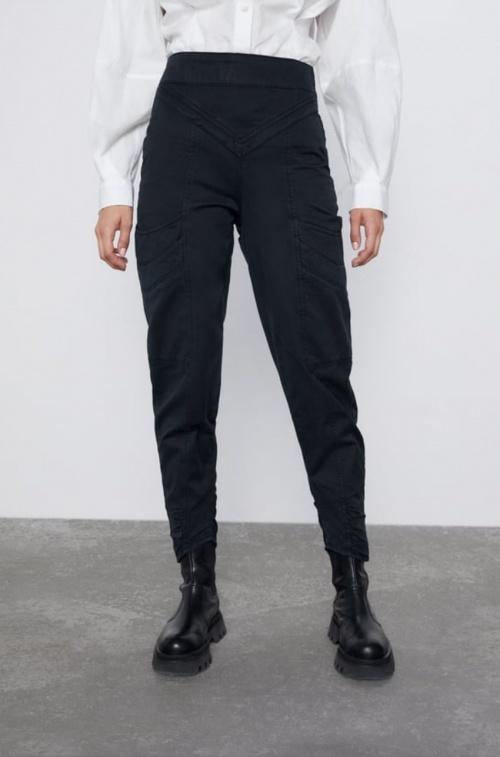Zara - Pantalon taille haute