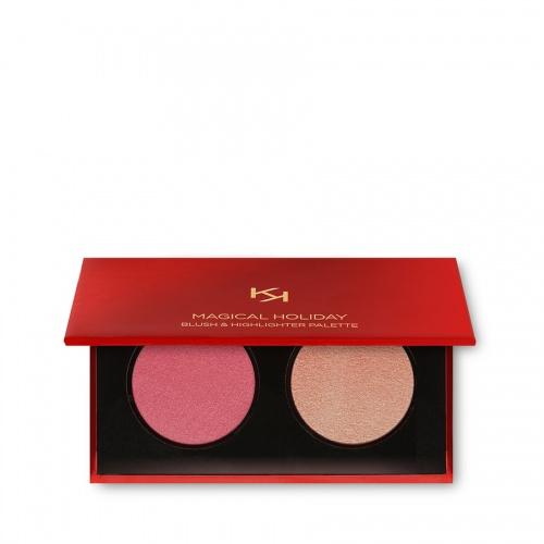 Kiko Cosmetics - Magical Holiday Blush & Highlighter Palette