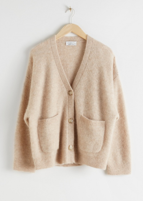 & Other stories - Cardigan beige