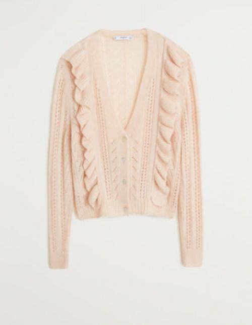 H&M - Cardigan rose pastel