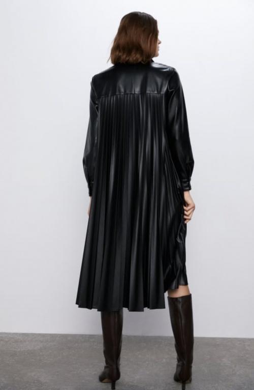 Zara - Robe simili cuir