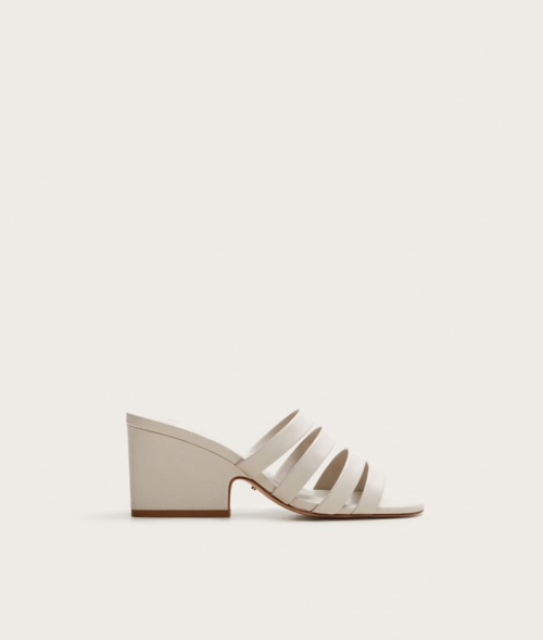 Mango - Mules blanches