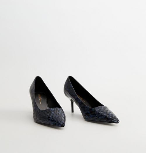 Mango - Chaussures talon serpent