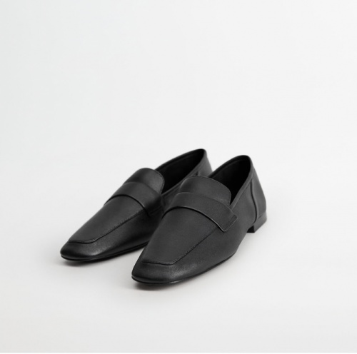 Mango - Mocassins simili cuir