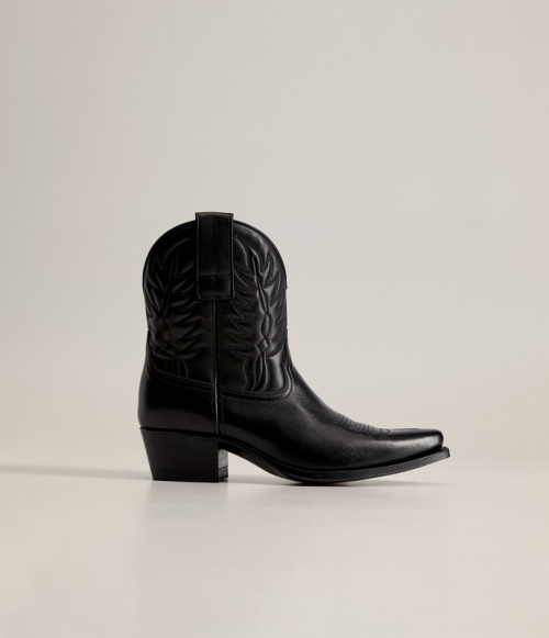 Mango - Bottines cowboy