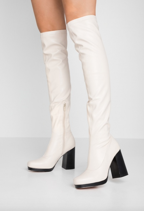River Island - Cuissardes blanches