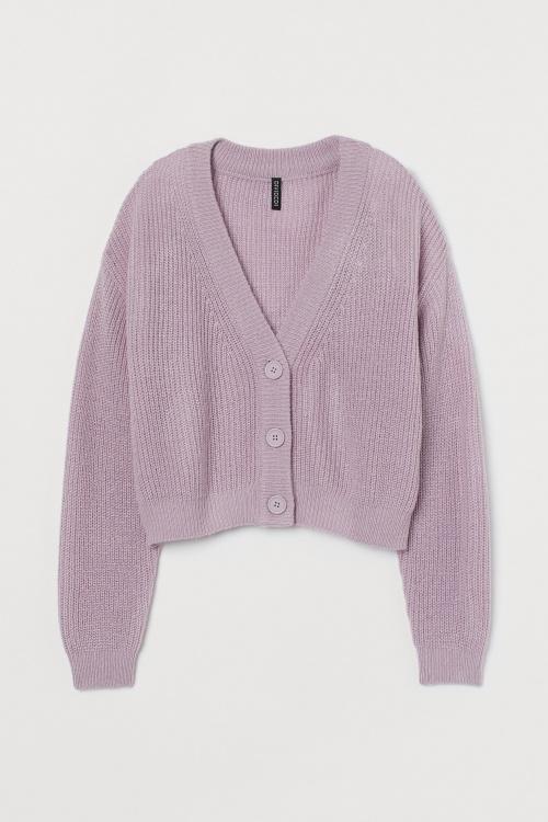 H&M - Cardigan lilas