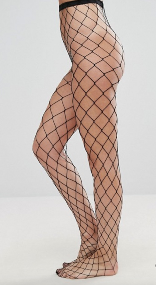 Asos Design - Collants à résille