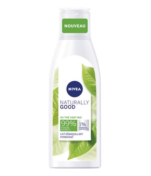 Nivea - Lait démaquillant visage thé vert BIO