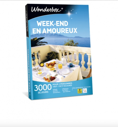 Wonderbox - Box week-end en amoureux