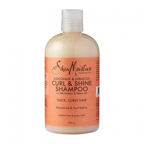 Shea Moisture - Coconut & Hibiscus Curl & Shine Shampoo