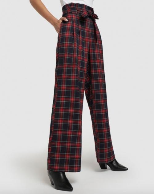 Formula Joven - Pantalon à carreaux