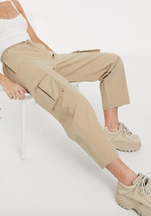 Asos Design - Pantalon paper bag
