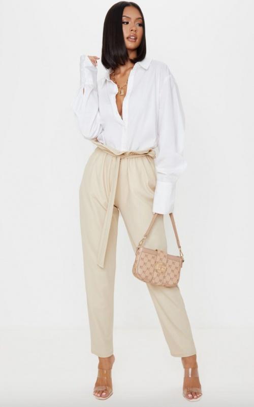 PLL - Pantalon paper bag