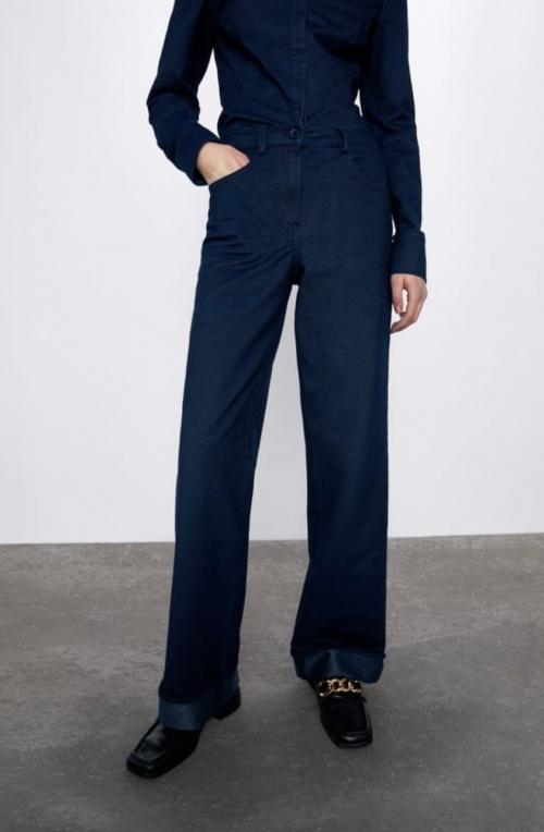 Zara - Pantalon denim