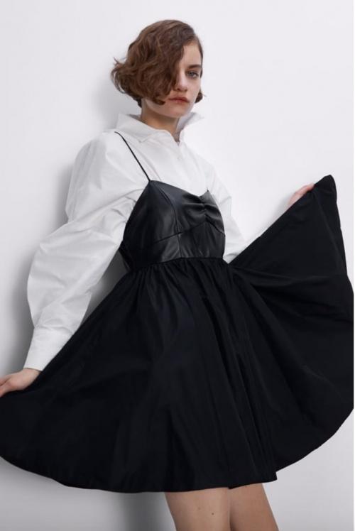 Zara - Robe bimatière