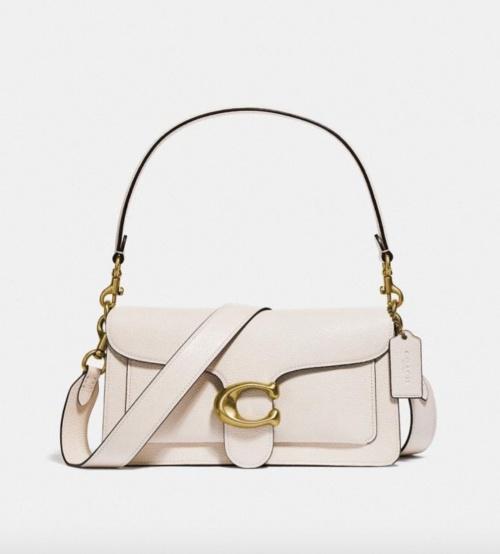 Coach - Petit sac épaule blanc