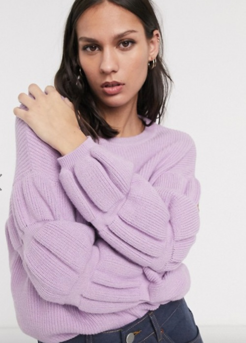 Selected Femme - Pull lilas
