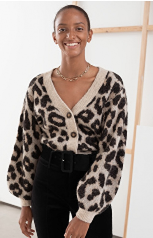 &OtherStories - Cardigan léopard