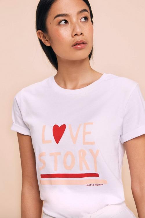 Elise Chalmin - T-shirt Love Story