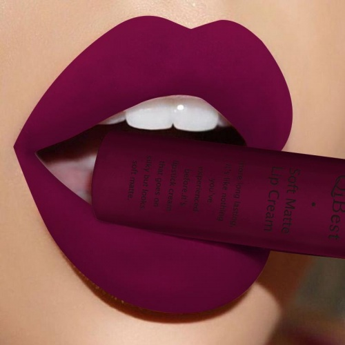 Waterproof Matte liquid lipstick Long Lasting Lip Gloss - Qibest