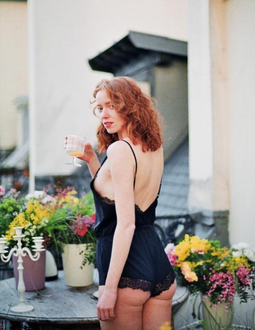 Girls in Paris - Teddy noir