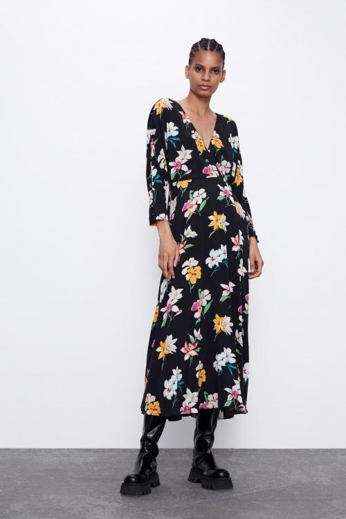 Zara - Jupe fleurie