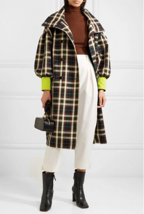 AVAVAV - Manteau à carreaux