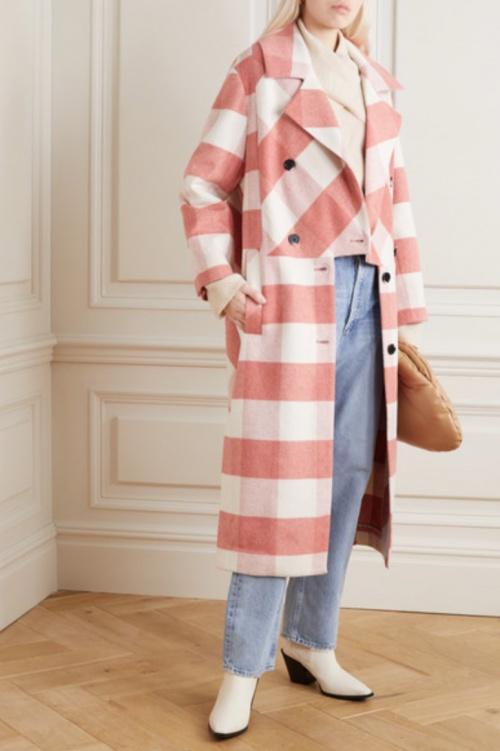 Munthe - Manteau à carreaux