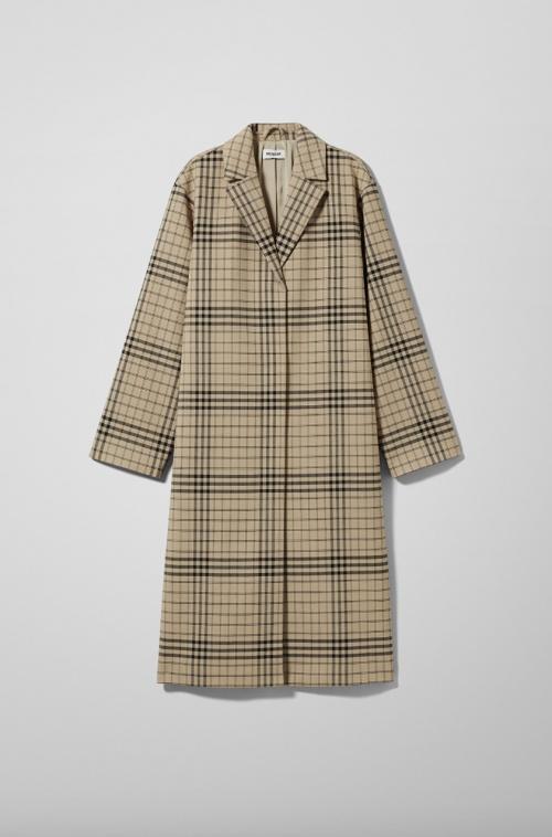 Weekday - Manteau à carreaux