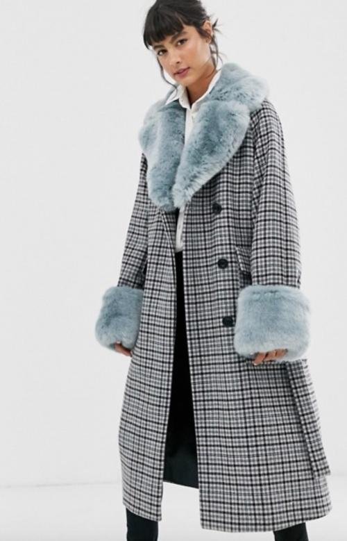 Whistles - Manteau à carreaux
