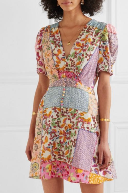 Saloni - Robe patchwork