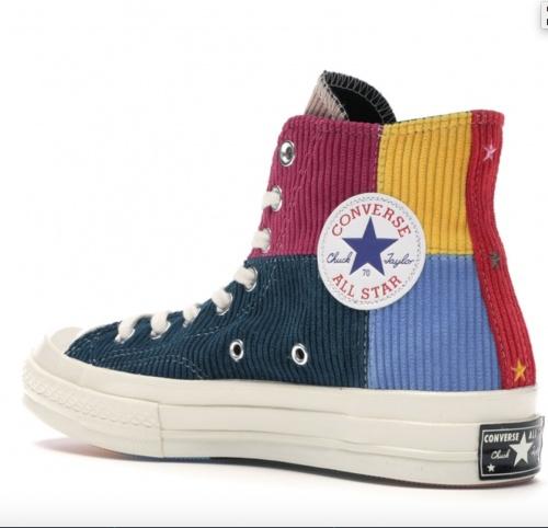 Converse - Chuck Taylor patchwork