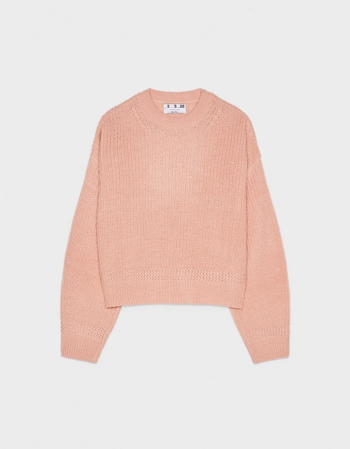 Gros pull à col rond