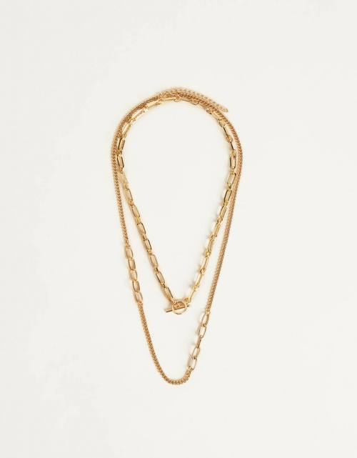 Bershka - Collier multi-rangs