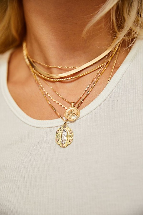 Free People - Collier ras du cou