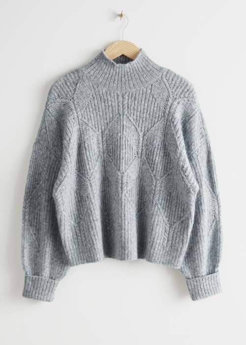 Gros pull gris