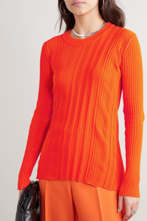 Courrèges - Pull fluo