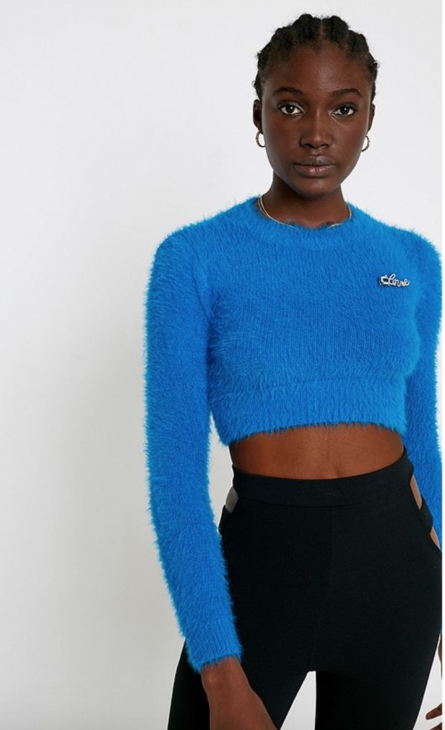 Urban Outfitters - Pull court duveteux