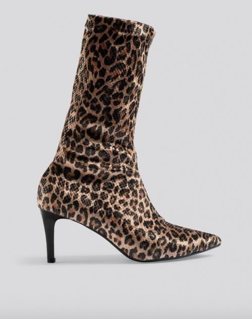 NA-KD - Bottines léopard