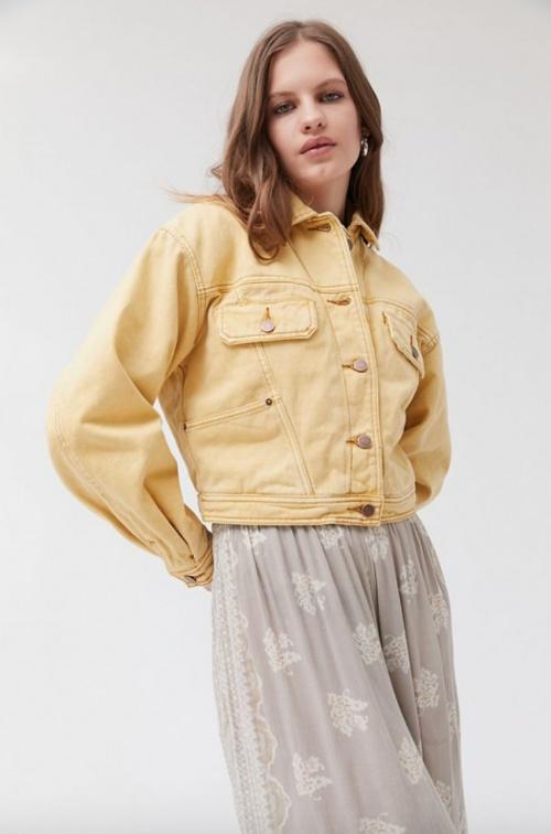 Urban Outfitters - Veste en jean crop