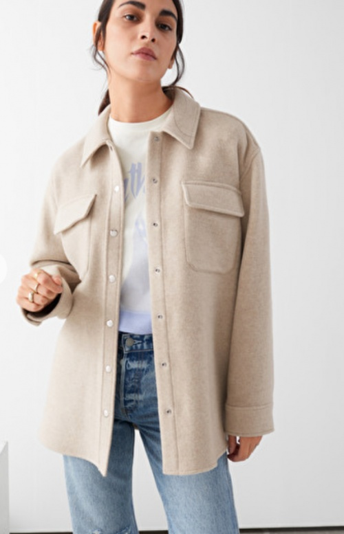 &Other Stories - Veste oversize