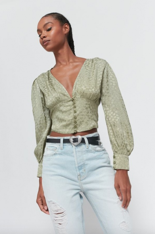 Urban Outfitters - Blouse fleurie