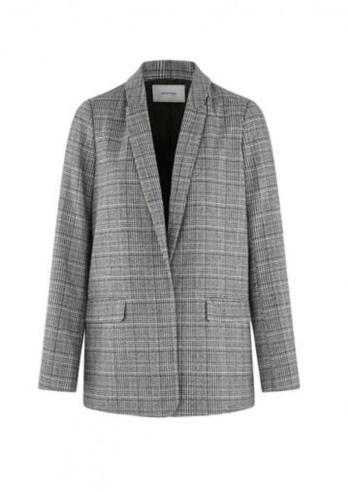 Promo - Veste tailleur grise
