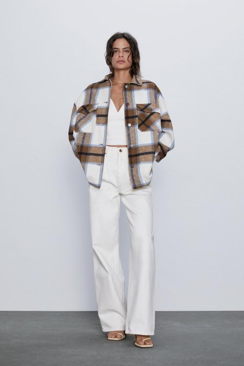 Zara - Veste à carreaux