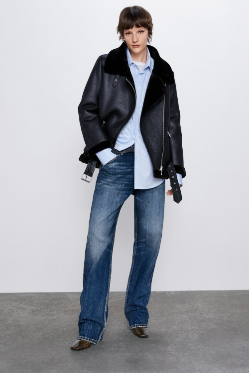 Zara - Veste de motard