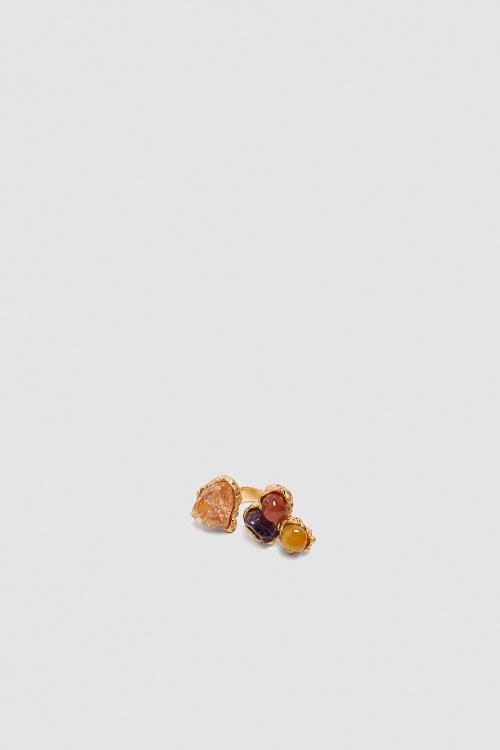 Zara - Bague ornée de pierres