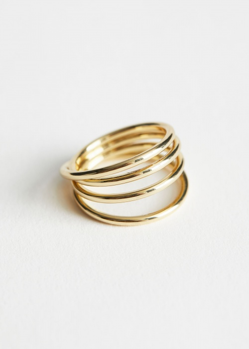 &Otherstories - Bague or